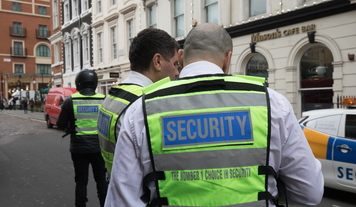 London's Best Event Security Service